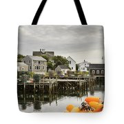 Port Clyde On The Coast Of Maine Tote Bag