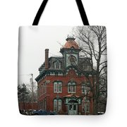 Port Henry Town Hall Tote Bag
