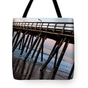 Port Hueneme Pier Askew Tote Bag