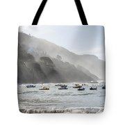 Port In Sestri Levante Tote Bag