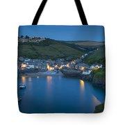 Port Issac Night Tote Bag