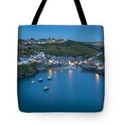 Port Issac Twilight Tote Bag