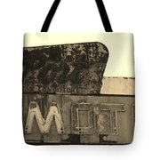 Port Motel Is Closed Tote Bag