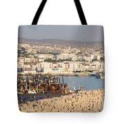 Port Of Agadir Morocco Tote Bag