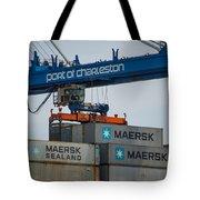 Port Of Charleston Tote Bag
