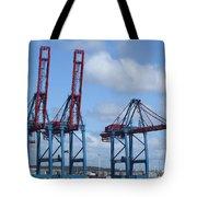 port of Gothenburg Tote Bag