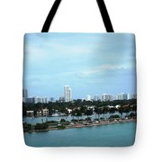 Port Of Miami Tote Bag