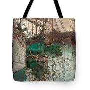 Port Of Trieste Tote Bag