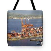 Port Of Vancouver Panorama Tote Bag