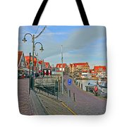 Port Of Volendam Tote Bag