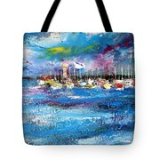 Port Reflections Tote Bag