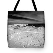 Port Washington - South Beach B-w  Tote Bag