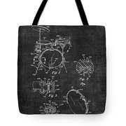 Portable Drum Set Patent 037 Tote Bag