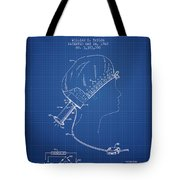 Portable Hair Dryer Patent From 1968 - Blueprint Tote Bag