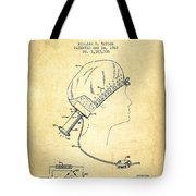 Portable Hair Dryer Patent From 1968 - Vintage Tote Bag