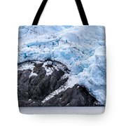 Portage Glacier Rretreat Tote Bag