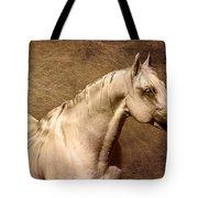 Portait Of A Stallion Tote Bag