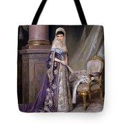 Portait Of Empress Maria  Fyodorovna Tote Bag
