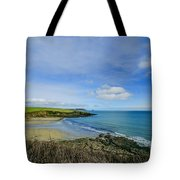 Porthcurnik Beach Cornwall Tote Bag
