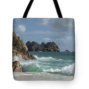 Porthcurno Beach Tote Bag