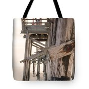 Portion Of The Pier Balboa Tote Bag