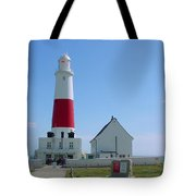 Portland Bill Lighthouse Tote Bag