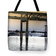 Portland Bridges Tote Bag