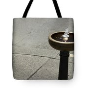 Portland Drinking Water Fountain Tote Bag
