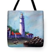 Portland Head In Shade Tote Bag
