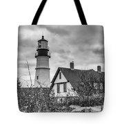 Portland Head Light 14431b Tote Bag