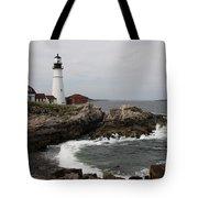 Portland Head Light - M E Tote Bag