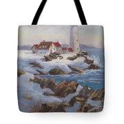 Portland Head Lighthouse Tote Bag
