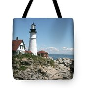 Portland Headlight Lighthouse 1 Tote Bag