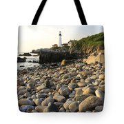 Portland Light House 2 Tote Bag