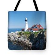 Portland Lighthouse 2 Tote Bag