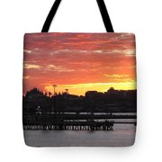 Portland Main Harbor Tote Bag