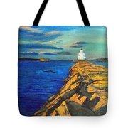 Portland Maine Harbor Tote Bag