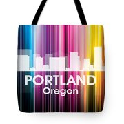 Portland Or 2 Tote Bag