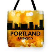 Portland Or 3 Tote Bag