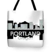 Portland Or 4 Tote Bag