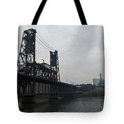 Portland Oregon Steel Bridge Tote Bag