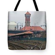 Portland Oregon Union Station Train Station Tote Bag