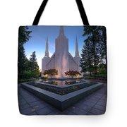 Portland Temple Tote Bag