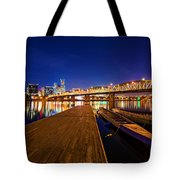 Portland Under The Stars Tote Bag
