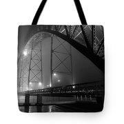 Porto @ Night Fog Tote Bag