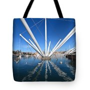 Porto Antico In Genova Tote Bag