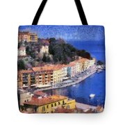 Porto Stefano In Italy Tote Bag