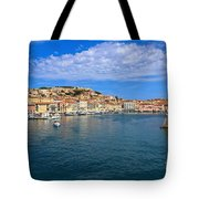 Portoferraio - View From The Sea Tote Bag