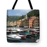 Portofino Port Entrance Tote Bag