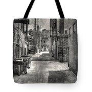 Portrait Alley-2 Tote Bag